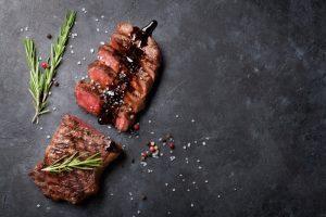 hauptspeise steak essen in karlsruhe rheinhafen griechisch